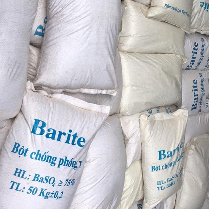 Bột barite phòng xquang,CT -   Công Ty TNHH Vật Tư Thiết Bị Hải Phong luôn tiên phong,luôn làm khách hàng hài lòng với dịch vụ cung cấp bột barite chất lượng uy tín lâu năm.Chúng tôi tự tin là đơn vịchuyên nghiệp cung cấp bột barite cản xạ phòng xquang đạt tiêu chuẩn chất lượng cao trong lĩnh vực cản xạ tia x.  BỘT BARITE HẢI PHONG