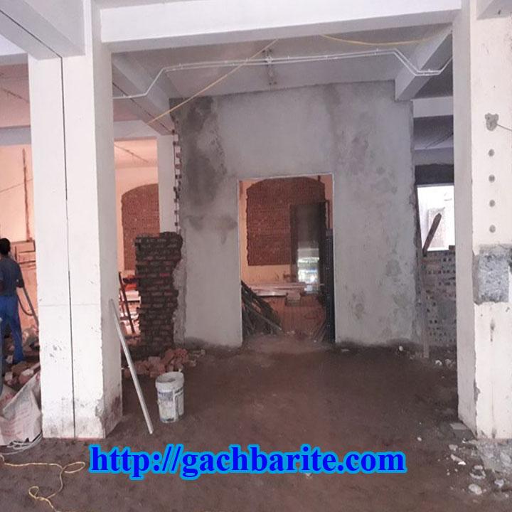 Thi công gạch barite phòng xquang và các công trình cản xạ phòng xquang | Làm Việc 24/7 - gachbarite.com